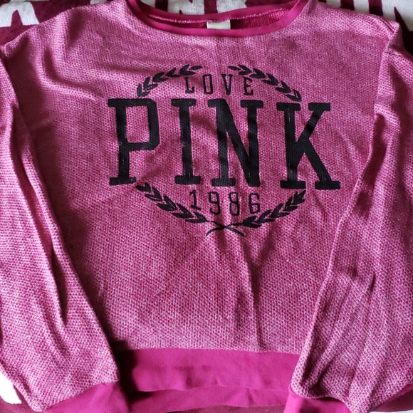 Victoria's secret pink shirt size XS